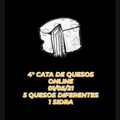 CATA 5 QUESOS Y 1 SIDRA 01/05/21
